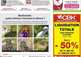 Publications Couverture Maxiflash du 29 mai 2017